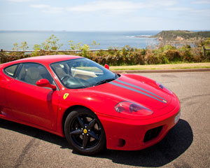 Ferrari Ride Plus Photo - Mornington Peninsula