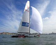 Sailing Aboard an Americas Cup Yacht - Sydney Harbour WEEKEND SPECIAL OFFER 2-For-1
