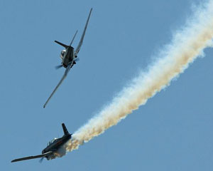 Aerobatic Warbird Dogfight 45 Minutes Perth