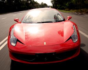 Ferrari 458 Italia Drive & Dine for 2 - Sydney