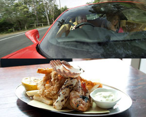Luxury Ferrari Drive & Dine for 2 - Sydney
