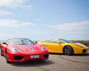 Ferrari and Lamborghini Drive Plus Passenger, Half Day Tour - Mornington Peninsula