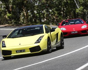Ferrari and Lamborghini Drive Plus Passenger, Half Day Tour - Mornington Peninsula