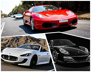 Luxury Supercar Drive, Triple Supercar Blast - Sydney