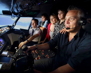 Boeing 737 Flight Simulator Melbourne CBD - 1 Hour Shared Flight For Up To 3!