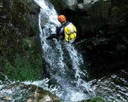 Canyoning Sydney, Full Day Rainforest Canyoning with Transfers