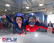 Indoor Skydiving Sydney, iFly Family & Friends Package (10 Flights) - NOW FLYING!