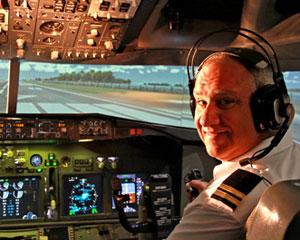 737 Flight Simulator 60 Minutes Hobart
