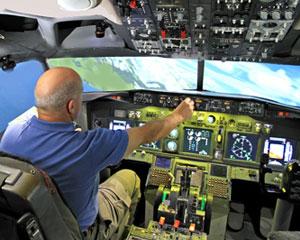 737 Flight Simulator 90 Minutes Hobart