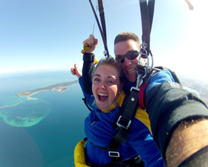 Skydiving Over The Beach Rockingham Perth - Weekday Tandem Skydive 14,000ft