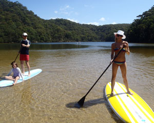 Stand Up Paddle Board Tour, The Basin - Sydney