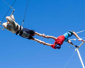 Trapeze Lesson for 2, Learn The Flying Trapeze, Outdoors - Gold Coast