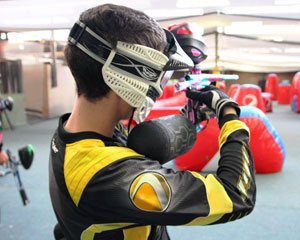 Indoor Paintball and Indoor Go Karting, Adrenalin Attack Pack - Sydney