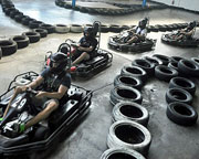 Indoor Paintball and Indoor Go Karting Combo - Sydney