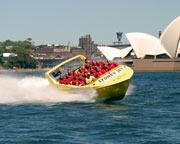 Darling Harbour Jet Boat Ride, 35 min - Sydney SPECIAL OFFER 2-For-1