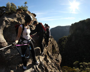Abseiling, Multipitch Abseiling Adventure, Half Day - Blue Mountains