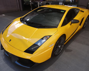 Ride in a Lamborghini Gallardo - Newcastle