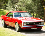 Muscle Cars, Ride in a Camaro - Newcastle