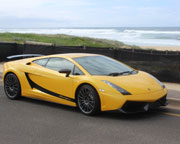 Drive a Lamborghini Gallardo, Beach Cruise plus Passenger - Newcastle