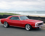 Muscle Cars, Camaro Beach Drive PLUS Passenger Rides For Free - Newcastle