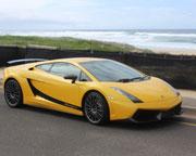 Lamborghini Gallardo, Drive and Dine plus Passenger - Newcastle