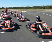 Outdoor Go Karting, 2 Sessions Plus Karting License - Gold Coast