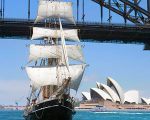 Sailing, Tall Ship Lunch Cruise with Drinks Package - Sydney
