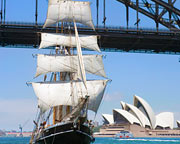 Sailing, Tall Ship Lunch Cruise with Unlimited Drinks - Sydney