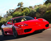 Ferrari 1 Hour Drive and Dine - Yarra Valley