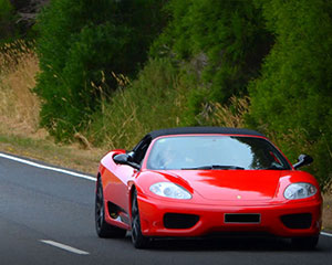 You Ride in a Ferrari, 30 Minutes Plus Photo - Yarra Valley