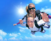 Skydiving Brisbane's Bribie Island - Tandem Beach Jump 12,000ft