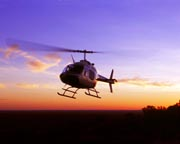 'Champagne In The Heart' 35-min Scenic Helicopter Tour - Alice Springs - FOR 2