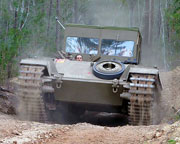 Tank Ride, Ride on a Centurion Tank - Brisbane