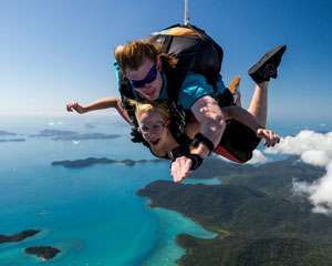 Skydiving Over Airlie Beach Whitsundays - Tandem Skydive 15,000ft