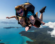 Skydiving Over Airlie Beach Whitsundays - Tandem Skydive 14,000ft