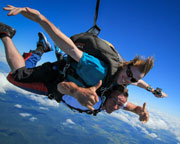 Skydiving Over Airlie Beach, Tandem Skydive 8,000ft - Whitsundays
