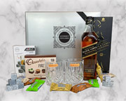 Scotch on The Rocks - Johnnie Walker Black Label Gift Hamper