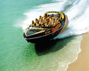 Jet Boat Ride, 55 Minutes - Plus 3 Day Dreamworld Holiday World Pass - Gold Coast