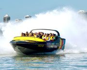 Jet Boat Ride, 55 Minutes - Plus SkyPoint Entry Pass - Gold Coast
