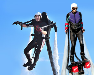 Jet Pack AND Board Combo, In-Water Training PLUS 20 Minute Flight Time - Gold Coast