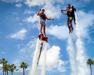 Jet Pack AND Board Combo, In-Water Training PLUS 30 Minute Flight Time - Central Coast