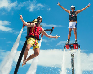 Jet Pack AND Board Combo, In-Water Training PLUS 20 Minute Flight Time - Sydney