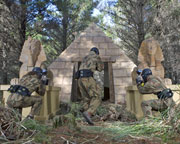Paintball Canberra (Tuggeranong) - Entry, Full Day Games Plus 100 Paintballs SPECIAL OFFER!
