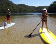 Stand Up Paddle Board Tour - SPECIAL OFFER 2-FOR-1 - The Basin - Sydney