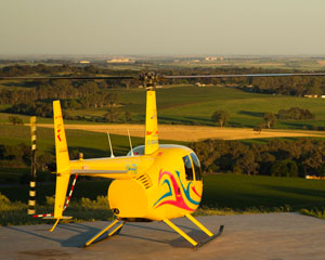 Helicopter Scenic Flight For 3 People, 10 Minutes - Barossa Valley