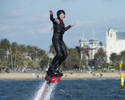Flyboard or Hoverboard St Kilda, Melbourne - 45 Minute Weekday Experience SPECIAL OFFER