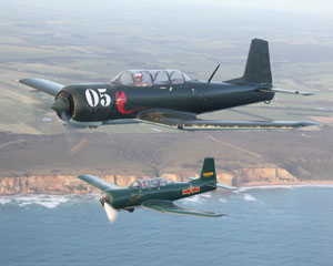 Aerobatic Warbird Flight, 25 minutes - Moorabbin, Melbourne