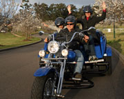 Trike Ride for 2, 2 Hour Hunter Valley Picnic Tour