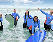 Learn to Surf, 2 Hour Surf Lesson - STAND UP GUARANTEE - Gold Coast