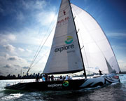 Sailing aboard Americas Cup Yacht - Sydney Harbour SPECIAL OFFER